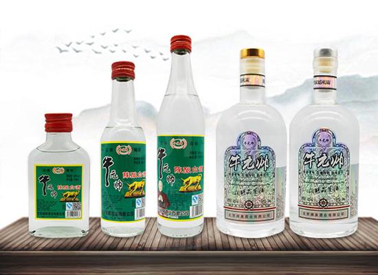 牛元帅二锅头陈酿白酒,采用精湛的酿造技艺,上市即畅销!