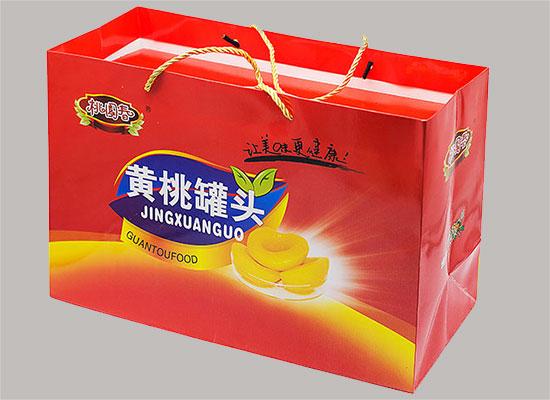 桃园春黄桃罐头礼盒装,满满诚意送礼佳品