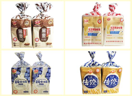恩琪吐司面包系列产品,口味众多,香甜又美味!