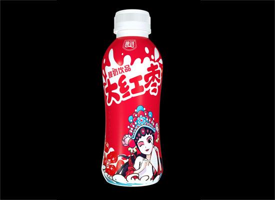 澳进大红枣酸奶饮品,大枣和乳酸菌的结合