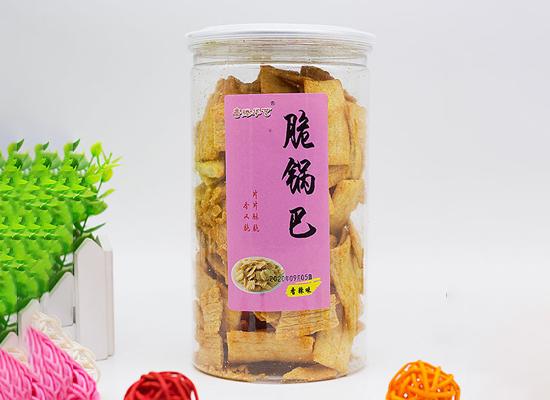 鲁滕华艺脆锅巴,自上市以来,销量火爆
