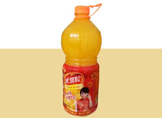 今六源果粒橙汁饮料,真实果粒看得见
