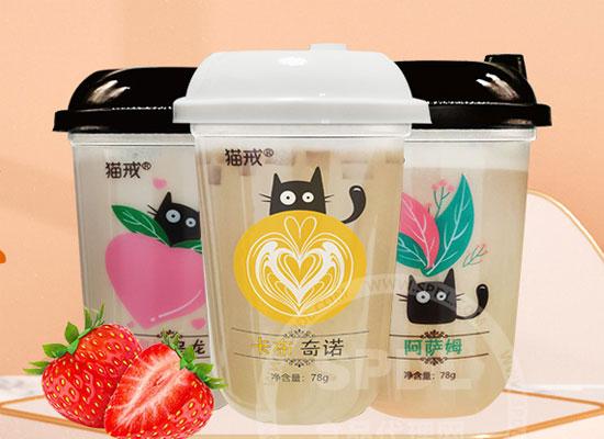 猫戒奶茶震撼上市,全新时尚奶茶,燃爆终端市场