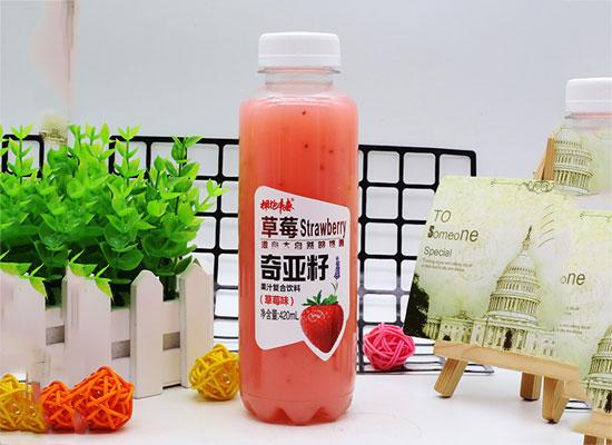 奇亚籽复合果汁饮料,领衔饮品市场!