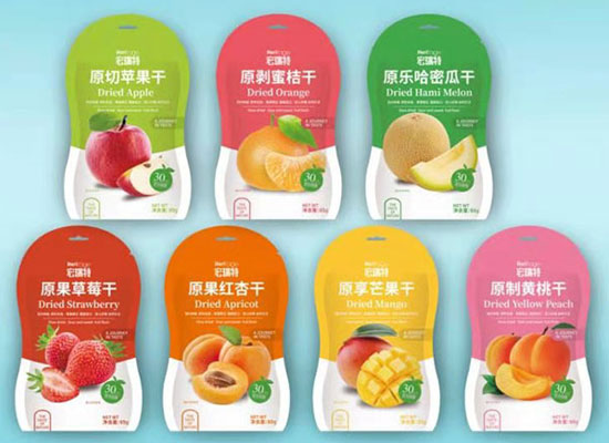 宏瑞特食品旗下产品众多,宏瑞特果干、果粒、果酱销量火爆!