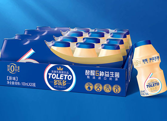 多乐多发酵乳酸菌饮品,小孩子们都爱喝的乳酸菌