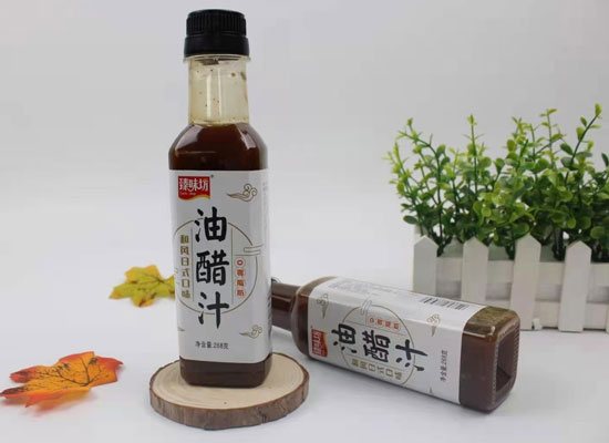 """臻味坊油醋汁,定义""""轻食""""健康美味"""