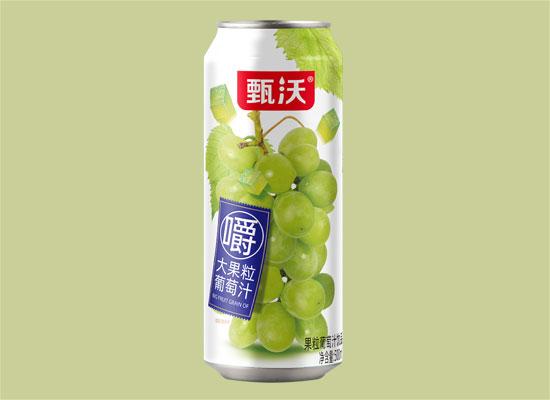 甄沃果汁饮品,大果粒嚼着喝
