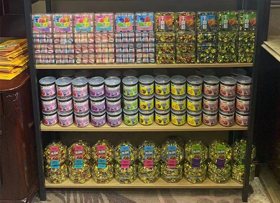 金印象食品攜眾多產品亮相,火熱招商,燃爆春糖!