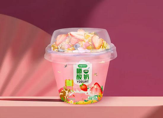 """""""嚼拌着喝的酸奶""""掀起全国热销狂潮,看这家企业如何抢占份额,成为区域霸王!"""