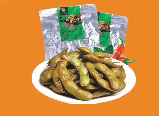 辣将军袋装毛豆,随时随地都能吃的正宗毛豆