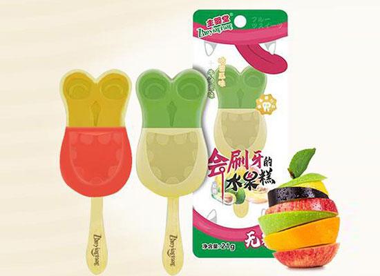 主婴堂推出会刷牙的棒棒糖,全新品类,助力孩子成长!