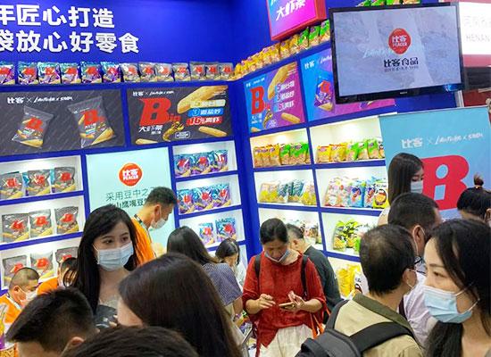比客食品亮相上海食博会,现场火爆,吸睛无数!