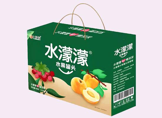 水濛濛黄桃罐头品质上乘,闻得到果园的香气