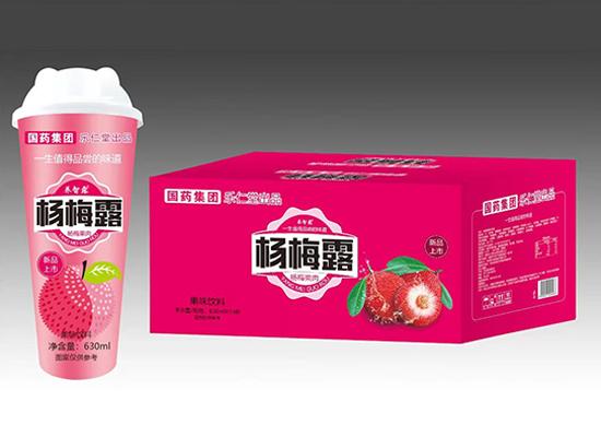 2021潜力新品上市,国药乐仁堂杯装果汁,震撼市场
