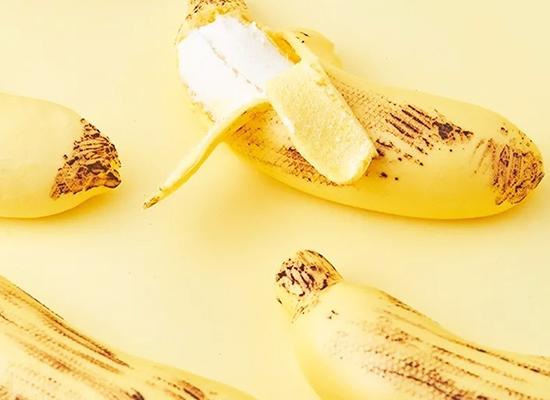 网红爆款剥皮慕斯香蕉蛋糕,让你嘴角上扬