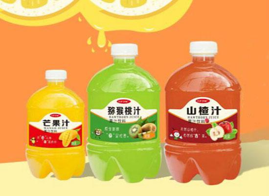 大瓶装,更尽兴!三分天地果汁饮料舌尖上放肆的果汁!