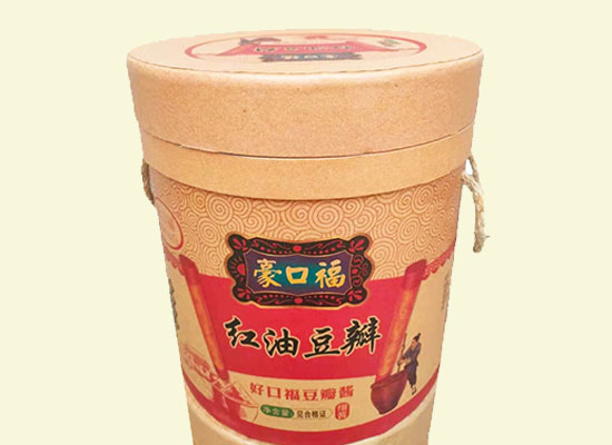 豪口福红油豆瓣酱色香味俱全,即将引爆消费狂潮!