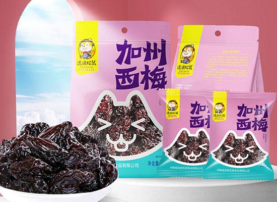 流浪松鼠多款蜜饯强势出击,惊艳消费者的味蕾!