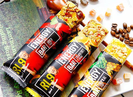 RL9蔓越莓橙谷物能量棒,波兰进口,美味优享