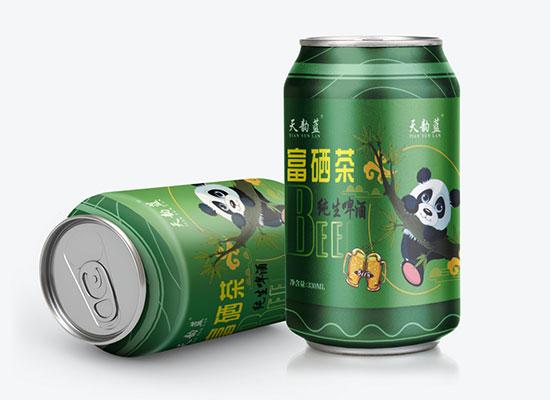 天韻藍富硒茶精釀啤酒,征服消費者,俘獲經銷商