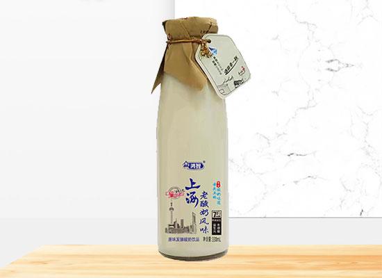 鸿智上海老酸奶饮品,重拾上海老味道