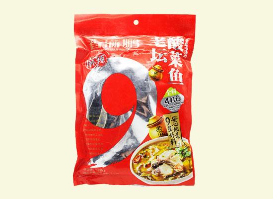 香满鹏老坛酸菜鱼调料冲出市场,足不出户享受鲜爽好味道