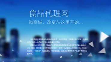 中國食品代理網微商城